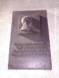 Plaque in Memory of Prof. MUDr. Sigmund Freud